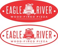 Eagle River Wood Fired Pizza Logo - Entry #45