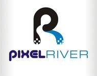 Pixel River Logo - Online Marketing Agency - Entry #181