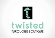 Twisted Turquoise Boutique Logo - Entry #11