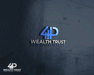 4P Wealth Trust Logo - Entry #147