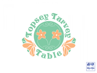 Topsey turvey tables Logo - Entry #25