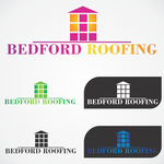 Bedford Roofing and Construction Logo - Entry #2