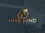 The Hive Mind Apiary Logo - Entry #37