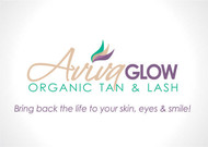 AVIVA Glow - Organic Spray Tan & Lash Logo - Entry #97
