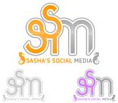 Sasha's Social Media Logo - Entry #186