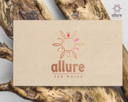 Allure Spa Nails Logo - Entry #3