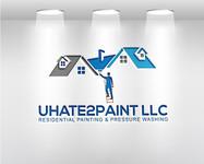 uHate2Paint LLC Logo - Entry #120