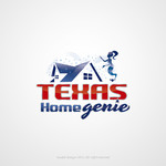 Texas Home Genie Logo - Entry #104