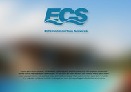 Elite Construction Services or ECS Logo - Entry #52