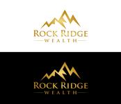 Rock Ridge Wealth Logo - Entry #417