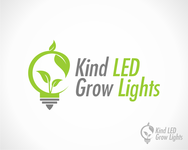 Kind LED Grow Lights Logo - Entry #1
