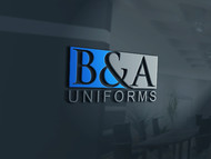 B&A Uniforms Logo - Entry #103