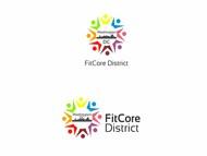 FitCore District Logo - Entry #94