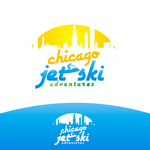 Chicago Jet Ski Adventures Logo - Entry #37
