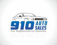 910 Auto Sales Logo - Entry #54