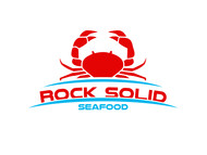 Rock Solid Seafood Logo - Entry #206