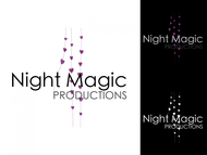 Night Magic Productions Logo - Entry #32