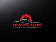Leah's auto & nail lounge Logo - Entry #183