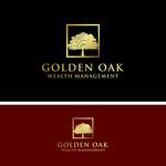 Golden Oak Wealth Management Logo - Entry #147