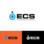 Elite Construction Services or ECS Logo - Entry #161