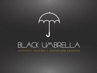 Black umbrella coffee & cocktail lounge Logo - Entry #176