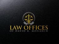 Law Offices of David R. Monarch Logo - Entry #215