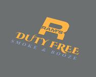 Rams Duty Free + Smoke & Booze Logo - Entry #90
