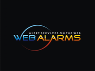 Logo for WebAlarms - Alert services on the web - Entry #177
