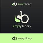 Simply Binary Logo - Entry #41
