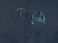 Leah's auto & nail lounge Logo - Entry #95