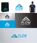 Flow Real Estate Logo - Entry #35