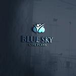 Blue Sky Life Plans Logo - Entry #317