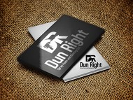 Dun Right Spray Foam and Coating LLC Logo - Entry #48