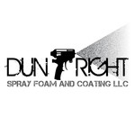 Dun Right Spray Foam and Coating LLC Logo - Entry #70