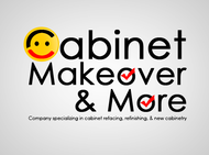 Cabinet Makeovers & More Logo - Entry #81