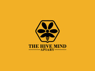The Hive Mind Apiary Logo - Entry #38