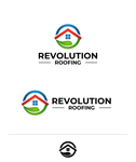 Revolution Roofing Logo - Entry #326