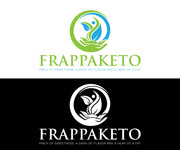 Frappaketo or frappaKeto or frappaketo uppercase or lowercase variations Logo - Entry #51