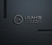 Leah's auto & nail lounge Logo - Entry #105