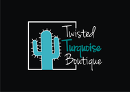 Twisted Turquoise Boutique Logo - Entry #202