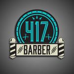 417 Barber Logo - Entry #41