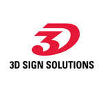 3D Sign Solutions Logo - Entry #130