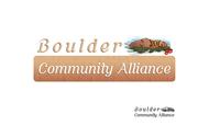 Boulder Community Alliance Logo - Entry #190