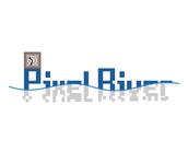 Pixel River Logo - Online Marketing Agency - Entry #44