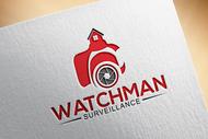 Watchman Surveillance Logo - Entry #161