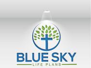 Blue Sky Life Plans Logo - Entry #436