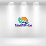 Ana Carolina Fine Art Gallery Logo - Entry #125