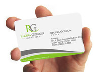 Regina Gordon Law Office  Logo - Entry #102