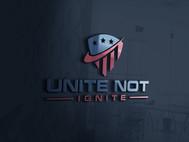 Unite not Ignite Logo - Entry #15