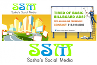 Sasha's Social Media Logo - Entry #54